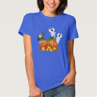 Fantasmas e abóboras do Dia das Bruxas engraçado Camiseta
