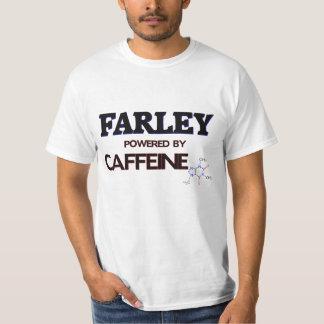 Farley pôr pela cafeína tshirts