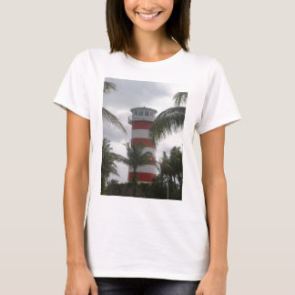 Farol de Bahamas do porto franco T-shirts