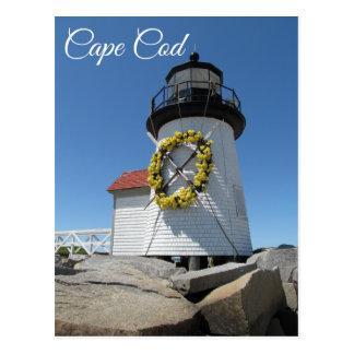 Farol de Cape Cod, Nantucket, cartão maciço
