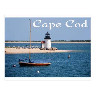 Farol de Nantucket, cartão de Cape Cod das MÃES