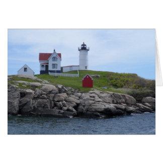 Farol do Nubble - Maine Cartão