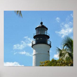 Farol histórico de Key West Impressão