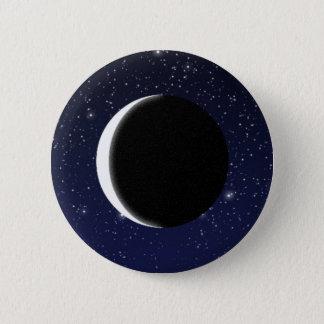 Fases da lua bóton redondo 5.08cm