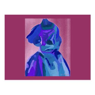 Fashionista da diva no azul mim