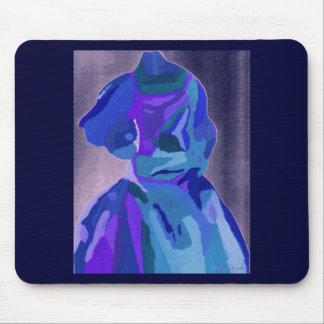 Fashionista da diva no azul mim mousepads