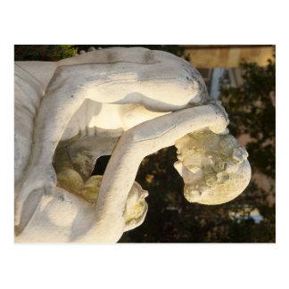 Fate fountain De Estugarda - allegory of love and Cartão Postal