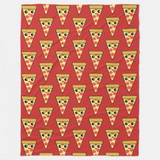 Fatia TP vermelho da pizza de Kawaii Cobertor De Velo