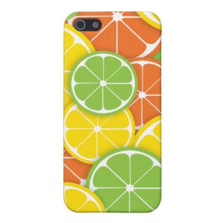 Fatias alaranjadas do limão do limão dos citrinos capas iPhone 5