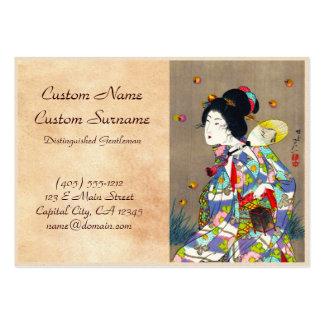 Favoritos de Nobukazu Yosai do amor bonito das Cartão De Visita Grande