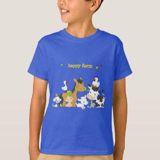 Fazenda-Roupa do alfabeto Camisetas