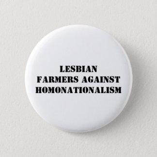 fazendeiros lésbicas contra o homonationalism bóton redondo 5.08cm