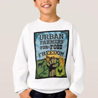 Fazendeiros urbanos para o logotipo da liberdade t-shirts