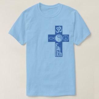 Fé do cruzamento tshirt