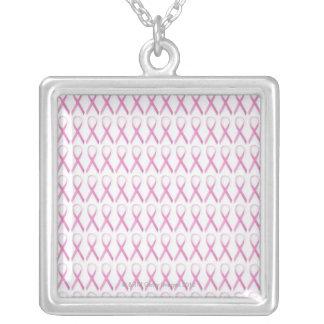Feche acima das fitas da consciência do cancro da  bijuterias personalizadas
