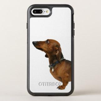 Feche acima de um dachshund capa para iPhone 8 plus/7 plus OtterBox symmetry