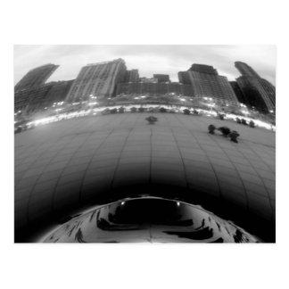 Feijão de Chicago Cartão Postal