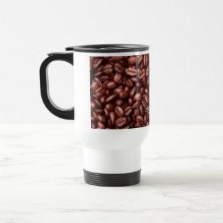 feijões de café, coffee=good caneca térmica