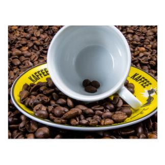 Feijões de Kaffee Cartão Postal