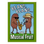Feijões, feijões, a fruta musical cartoes