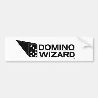 Feiticeiro do dominó adesivo para carro