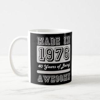 Feito em 1976 caneca de café