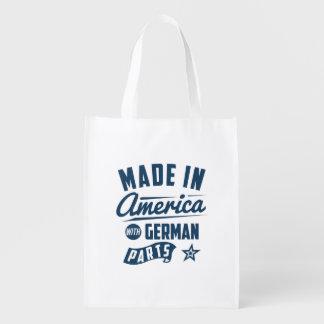 Feito em América com peças alemãs Sacola Ecológica Para Supermercado