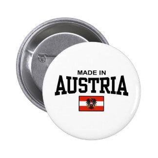 Feito em Áustria Bóton Redondo 5.08cm