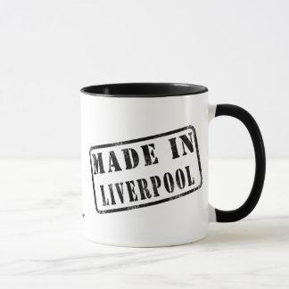 Feito em Liverpool Caneca