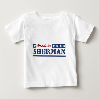 Feito em Sherman T-shirts