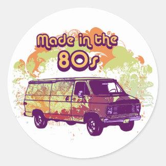 Feito no anos 80 adesivo