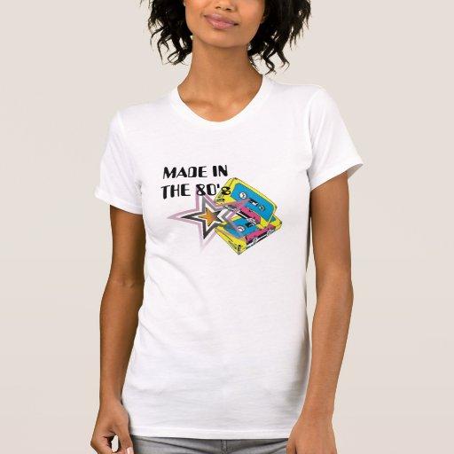 FEITO No anos 80 Tshirts