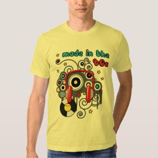 Feito no t-shirt do anos 80