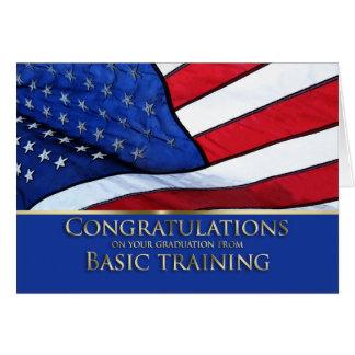 Felicitações América da graduação da formação Cartão Comemorativo
