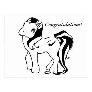 Felicitações Graduatress Cartão Postal