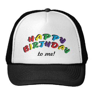 Feliz aniversario a mim | engraçado boné