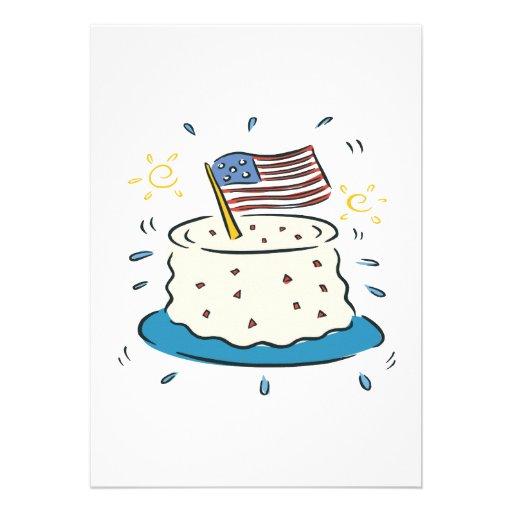 Feliz aniversario América Convites