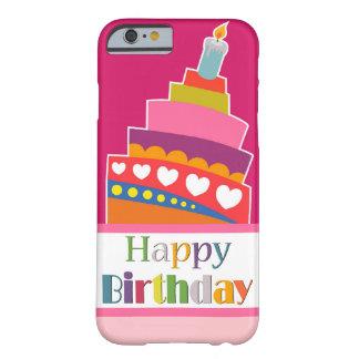 Feliz aniversario capa barely there para iPhone 6
