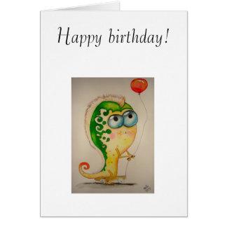 Feliz aniversario! cartao