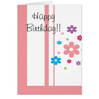 Feliz aniversario!! cartão