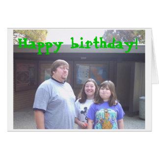 Feliz aniversario! cartoes