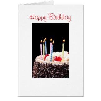 Feliz aniversario - cartão do aniversário