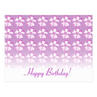 Feliz aniversario! - Cartão - modelo Cartões Postais