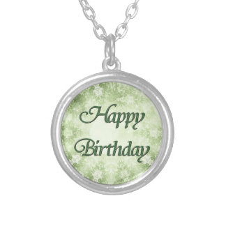 Feliz aniversario colares personalizados