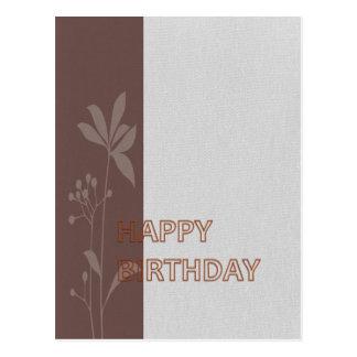 Feliz aniversario coleção do março de 2012 cartao postal