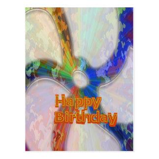 Feliz aniversario coleção do março de 2012 cartoes postais