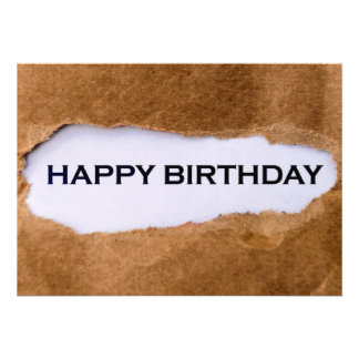 Feliz aniversario convites personalizados