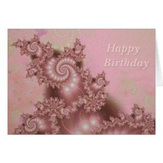 Feliz aniversario em diversas línguas para dentro cartão comemorativo