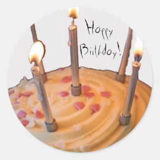 Feliz aniversario! Etiquetas Adesivo