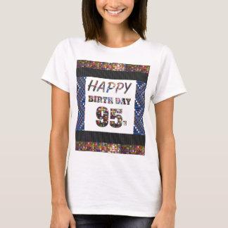 feliz aniversario happybirthday 95 ninetyfive 95th tshirts